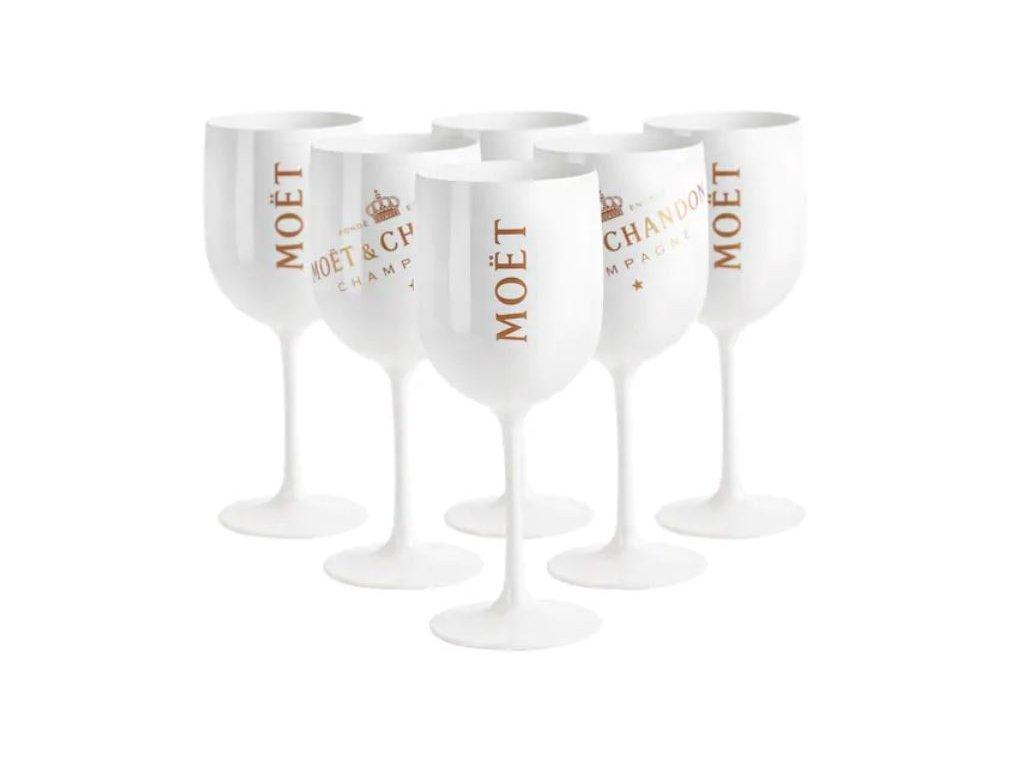Plastové skleničky MOËT & CHANDON ICE IMPERIAL 6ks