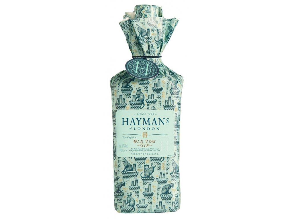 Hayman's Old Tom Gin v papírovém obalu wrapped