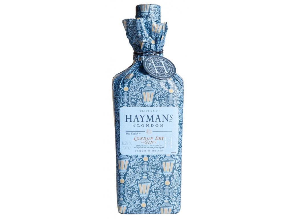Hayman's London Dry Gin v papírovém obalu wrapped