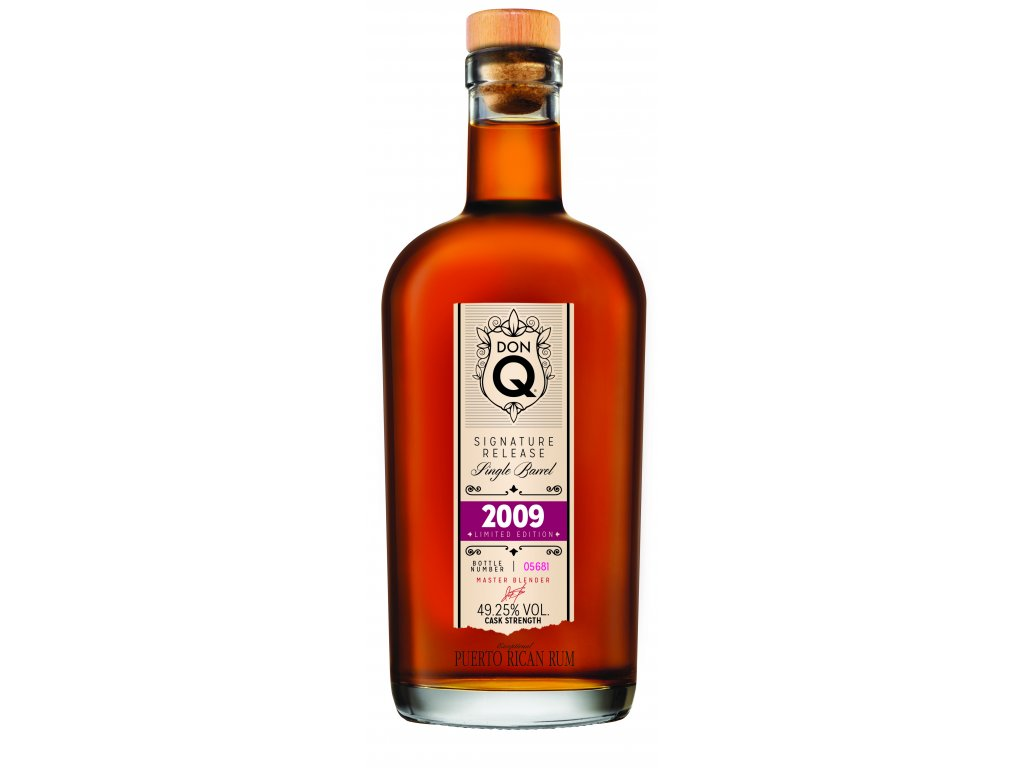 Don Q SingleBarrel 2009 Bottle Europe