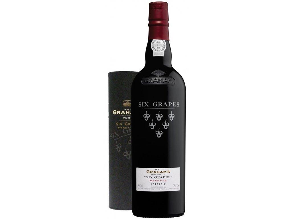 Grahams Port Wine Six Grapes Ruby Reserve 20% 0,75l