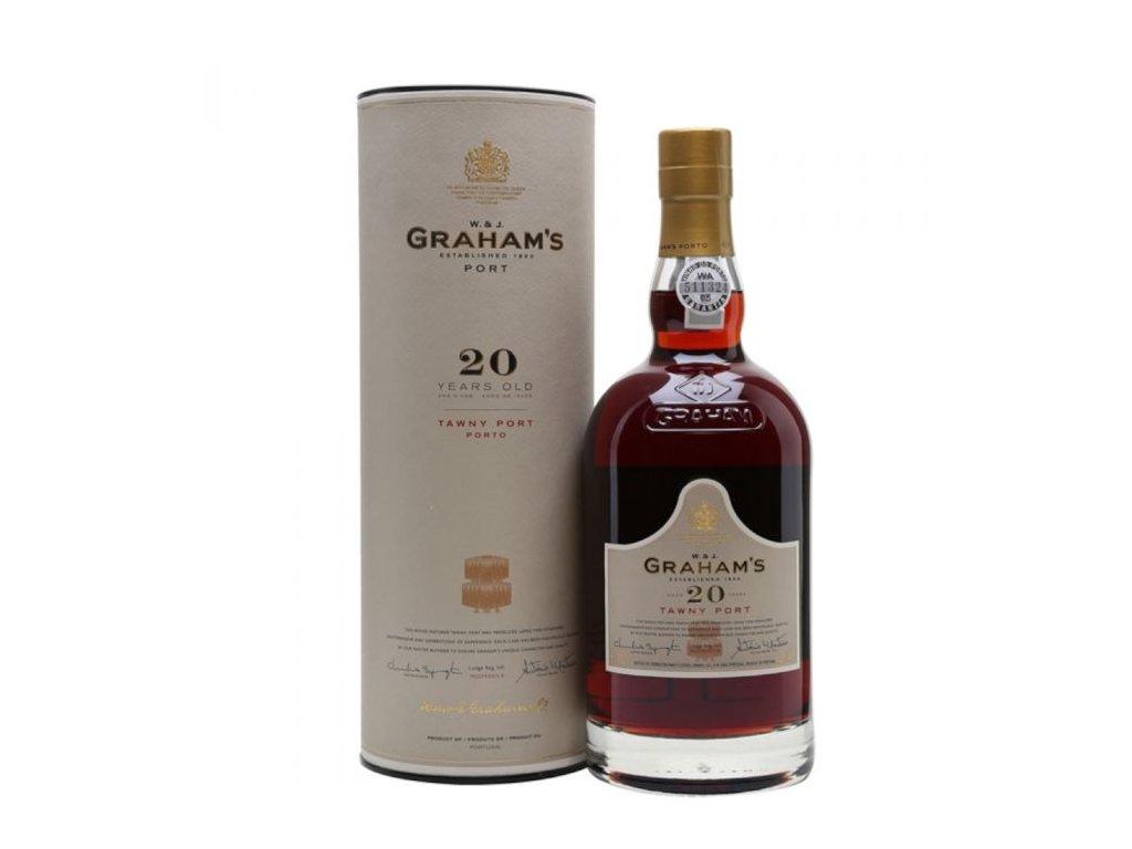 vino oport graham s 20 yo old tawny port 20 r estuche2 5489
