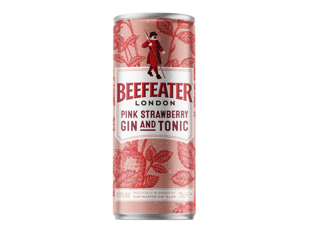 Beefeater Pink STRAWBERRY G & T Ready to Drink