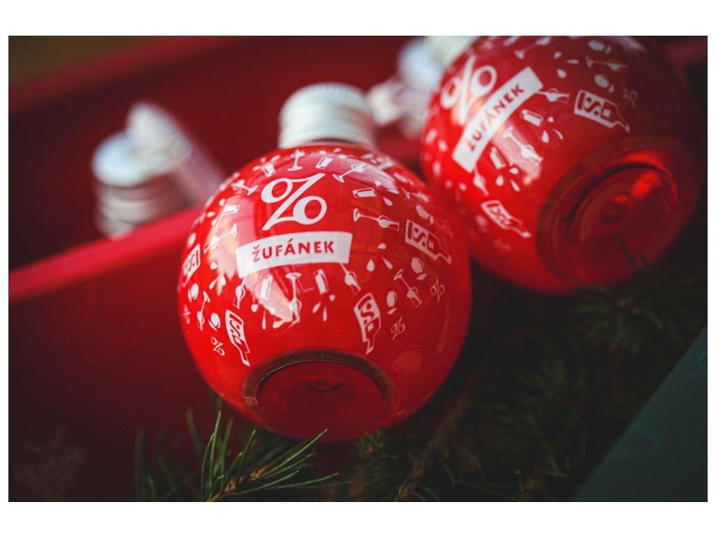 Vánoční alko koule Žufánek
