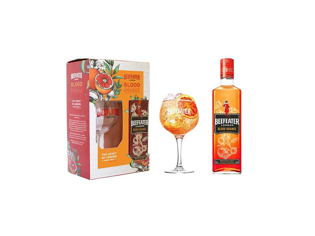 Blood Orange Beefeater gift set
