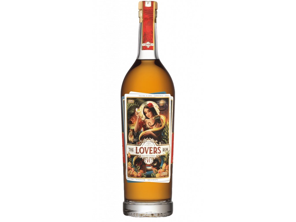 the.lovers rum flasche