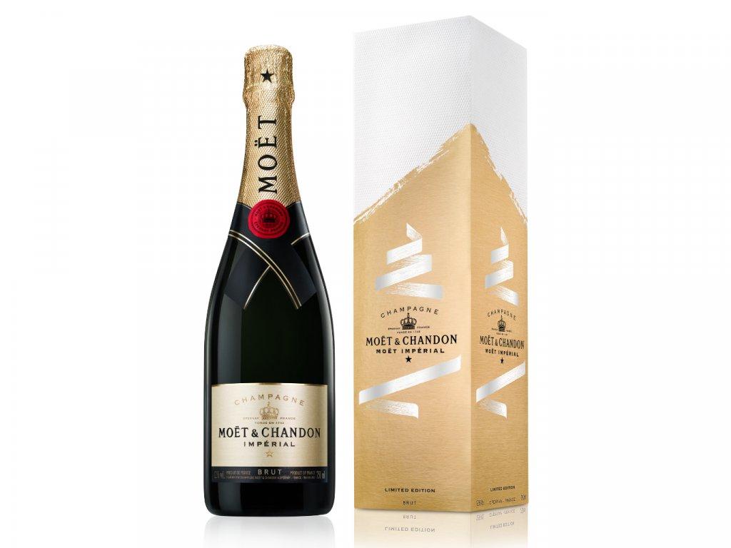 Moët & Chandon Impérial EOY festive Gift box 0,75l