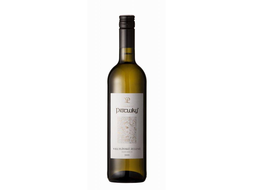 Veltlínské Zelené - Vinařství Přítluky 13% 0,75