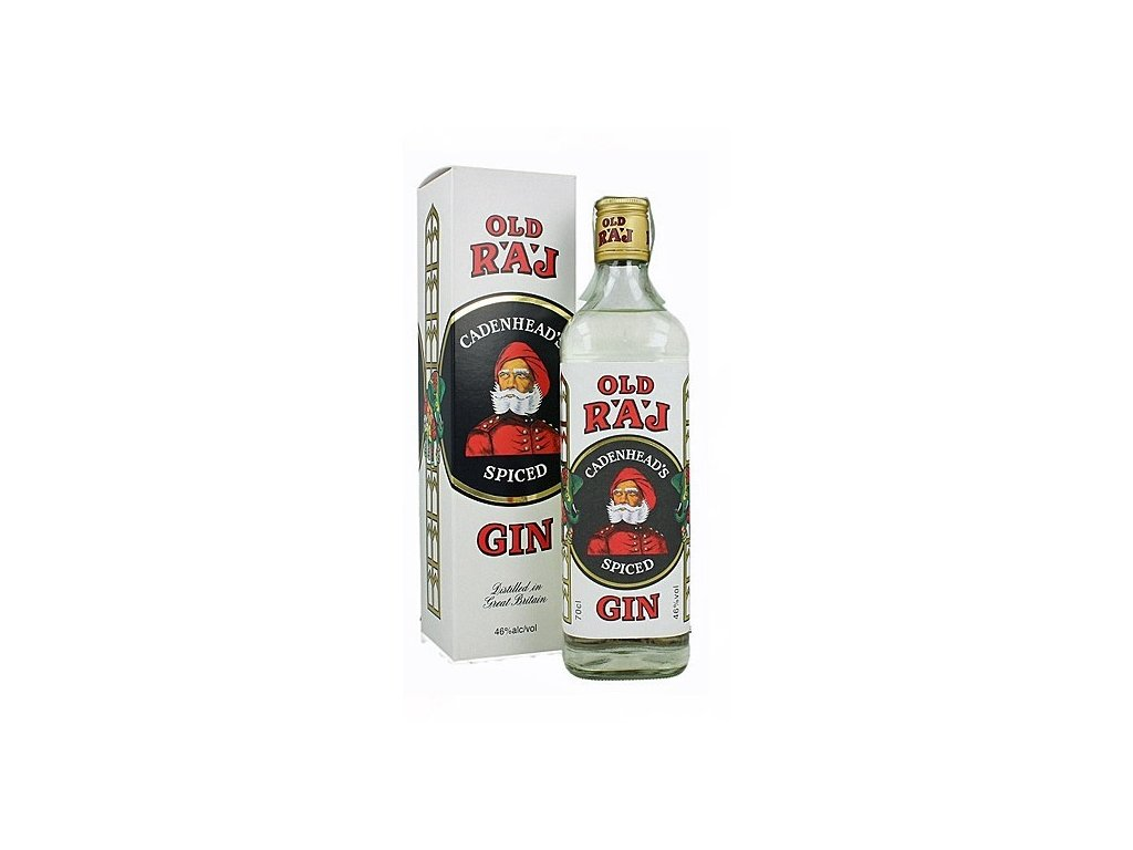 Cadenhead´s Old Raj Spiced Gin 46,0% 0,7