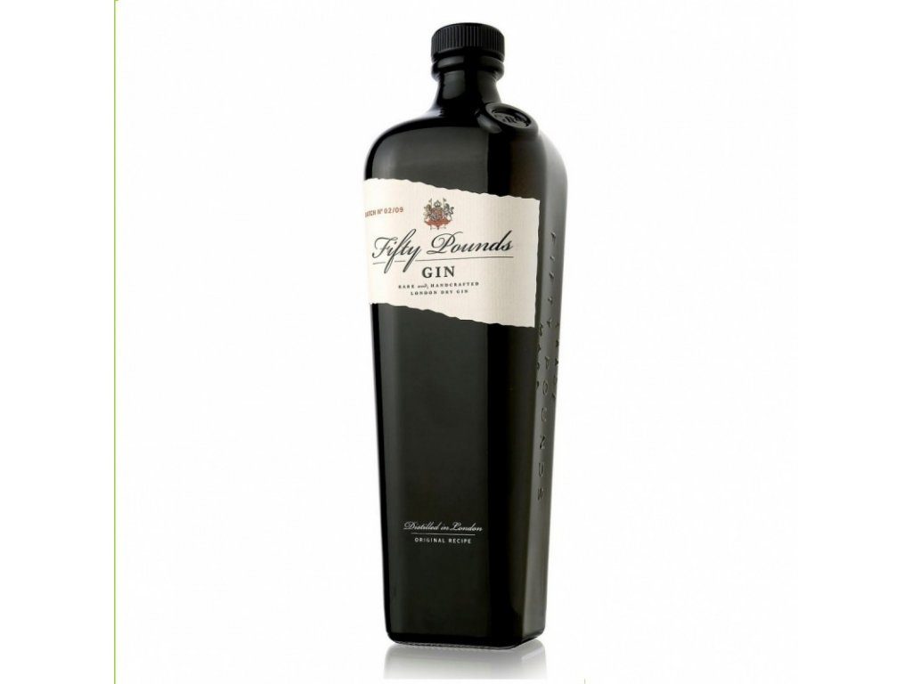 Fifty Pounds Gin 43,5% 0,7