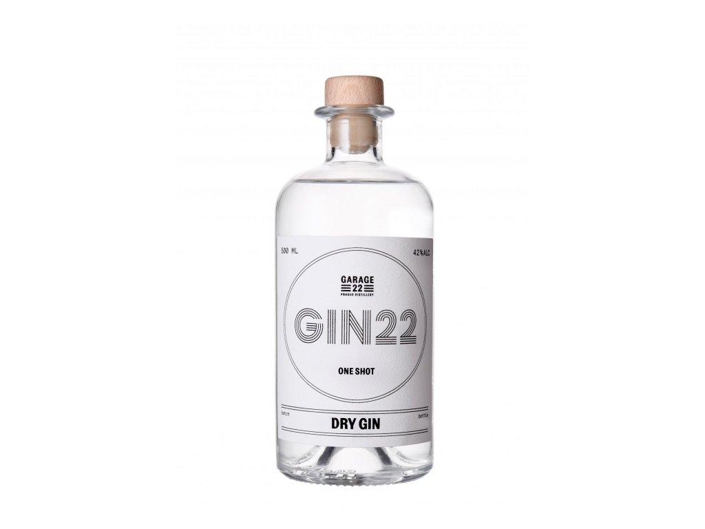 Garage 22 Dry Gin 42% 0,5