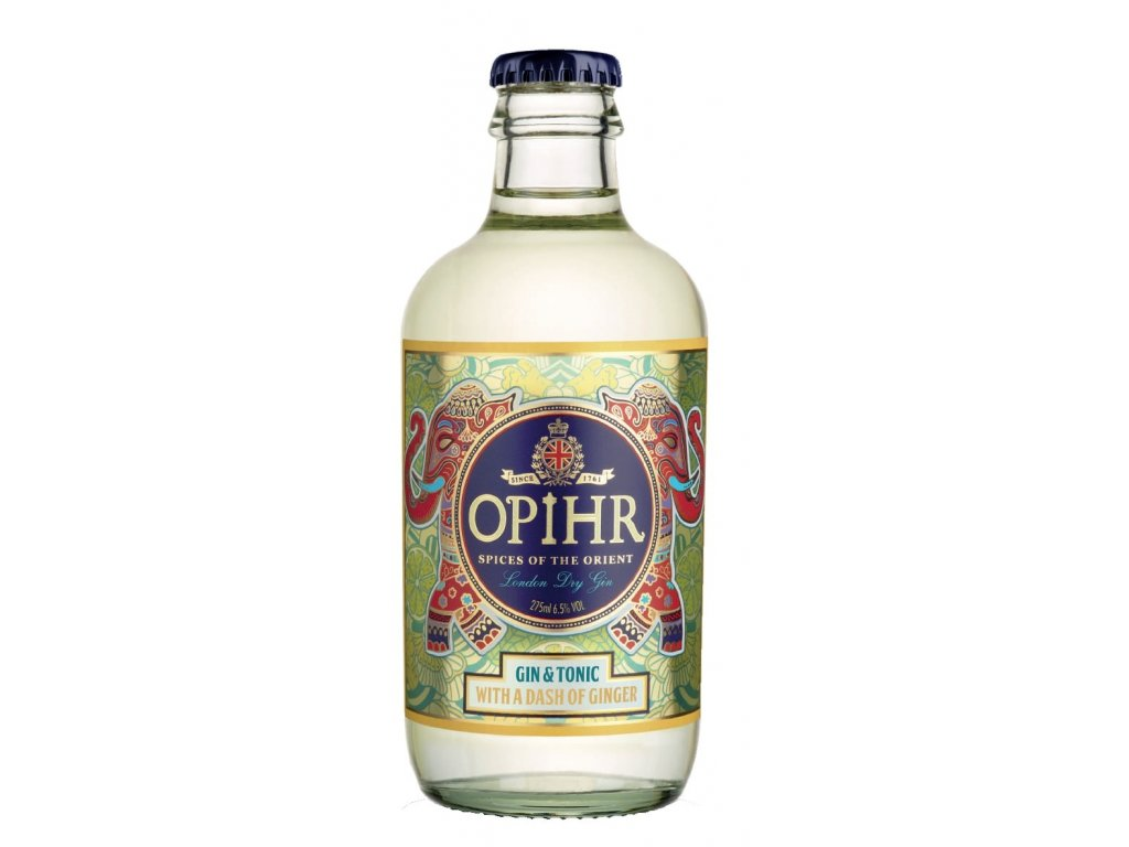 Opihr Oriental Gin&Tonic Dash Of Ginger 6,5% 0,275
