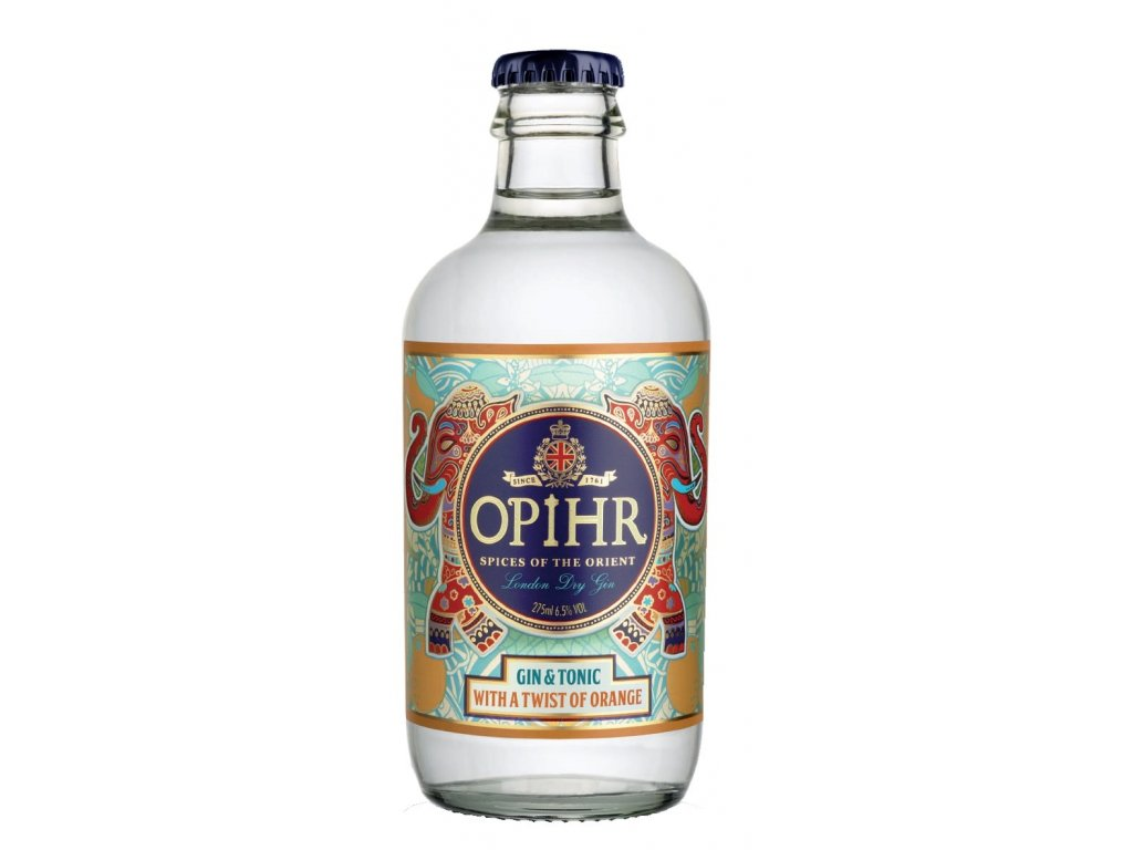 Opihr Oriental Gin&Tonic Twist Of Orange 6,5% 0,275