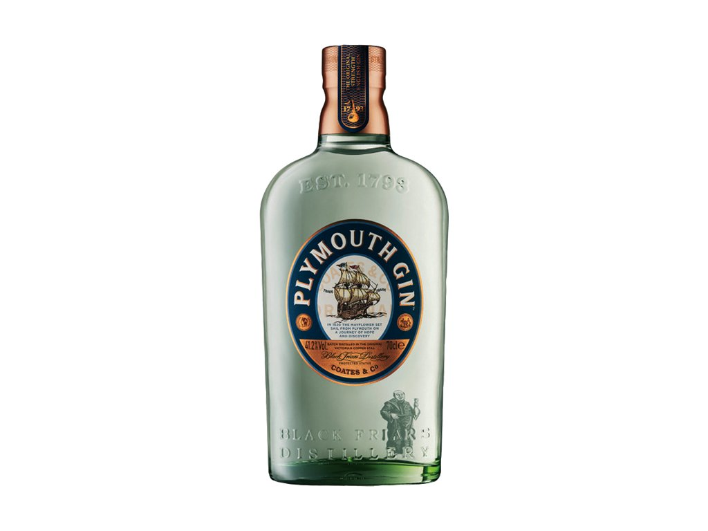 Plymouth Gin 41,2% 0,7