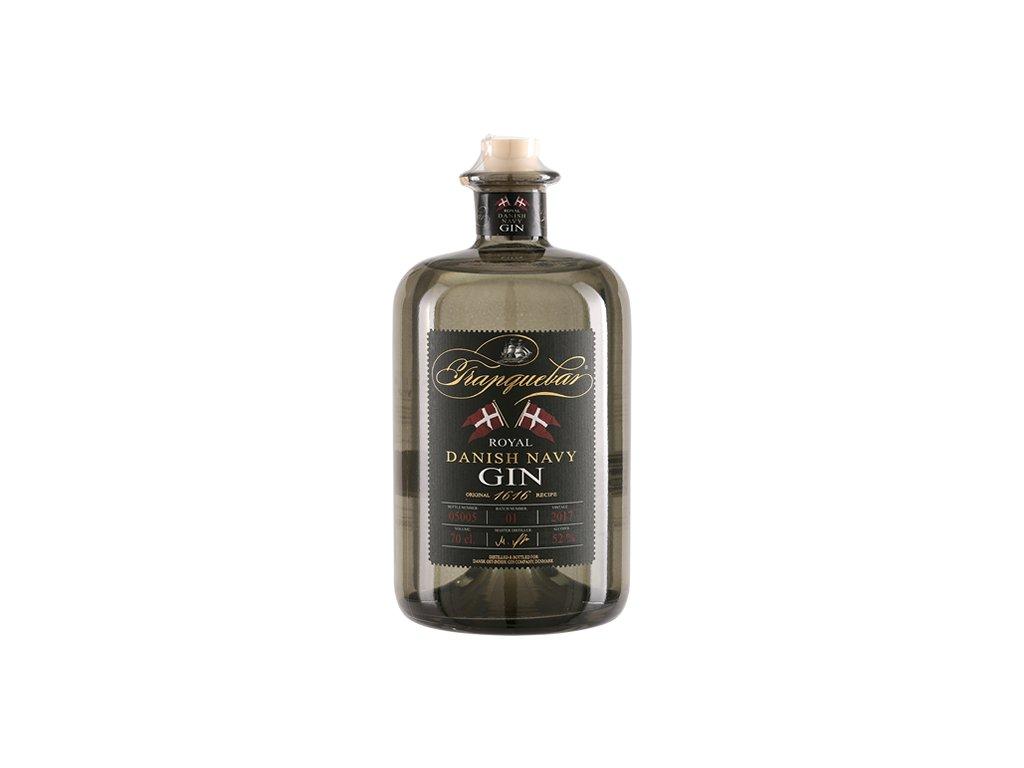 Tranquebar Royal Danish Navy Gin 52% 0,7