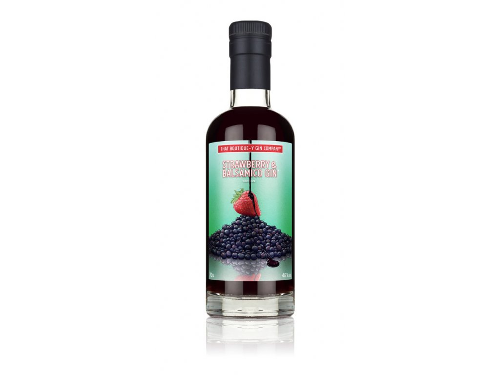 Strawberry+&+Balsamico+Gin+ +70cl