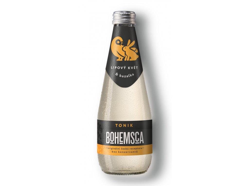Bohemsca Tonic Water Lipový Květ & Bazalka 0,33
