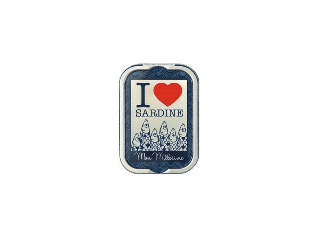 Francouzské sardinky I LOVE sardine, 115g produkt