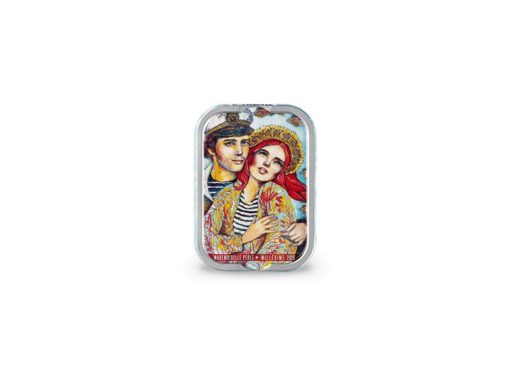 Francouzské sardinky Les retrouvailles de Mlle Perle, 115g produkt