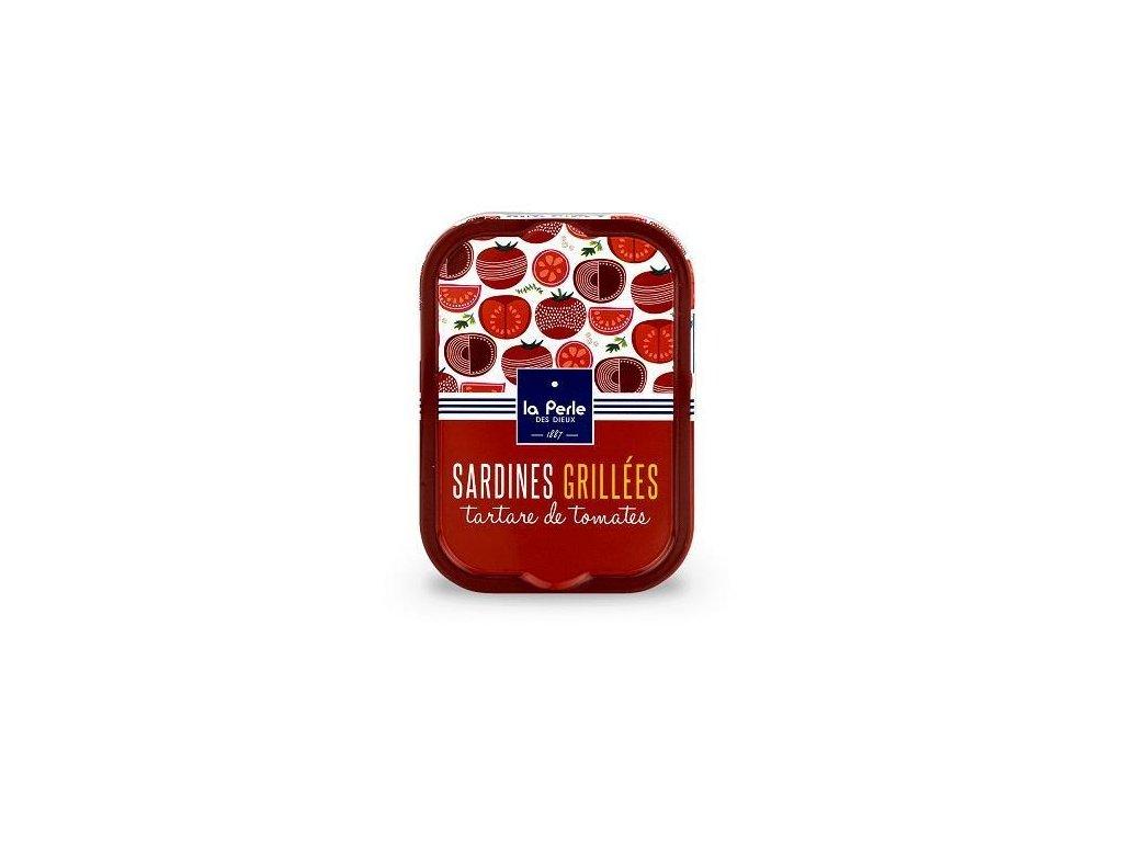 Grilované Francouzské Sardinky v rajčatovém tartare, 115g produkt