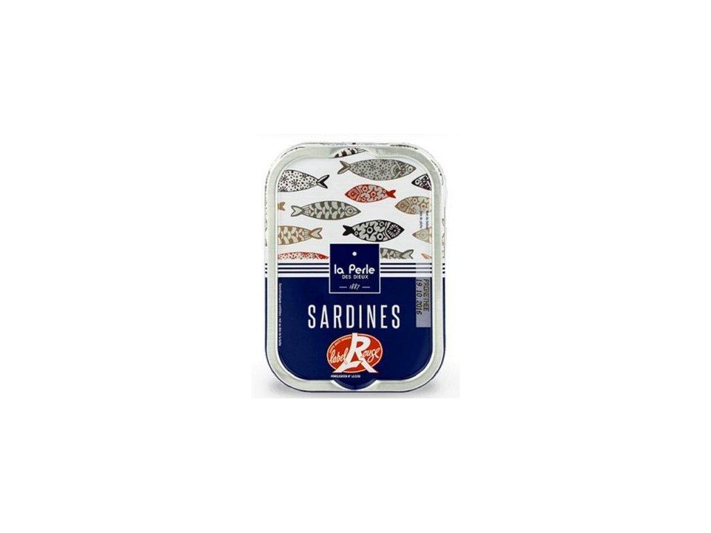 Francouzské sardinky Label Rouge, 115g produkt