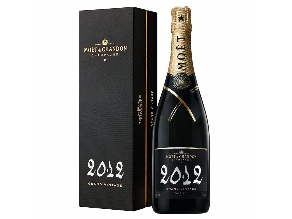 1080230 Moët & Chandon Vtg Blanc Chalk Gift box 12' 75cl