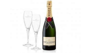 Moët & Chandon Brut Impérial 0,75l + 2 skleničky
