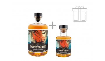 The Duppy Share Rum 40% 0,7l + DÁREK 0,2 l The Duppy Share rum