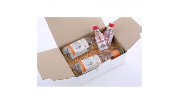 set 2 x beefeater 40 005 pet 2 x double dutch indian tonic water 02l