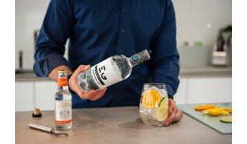 Edinburgh Gin 43% 0,7 + 4x Double Dutch Indian Tonic Water 0,2