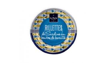 la perle rillety ze sardinek na pravem masle 80 g