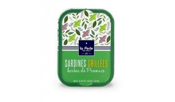 Grilované Francouzské Sardinky s provensálským kořením, 115g produkt