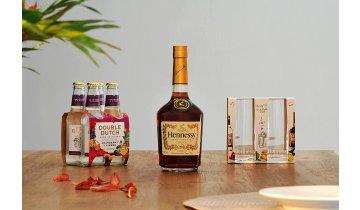 Hennessy V.S. 0,7 l 40 % + 2 originální skleničky a tonik jako dárek