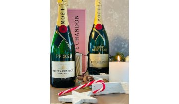 40 moet chandon rose 0 75l giftbox sampanske