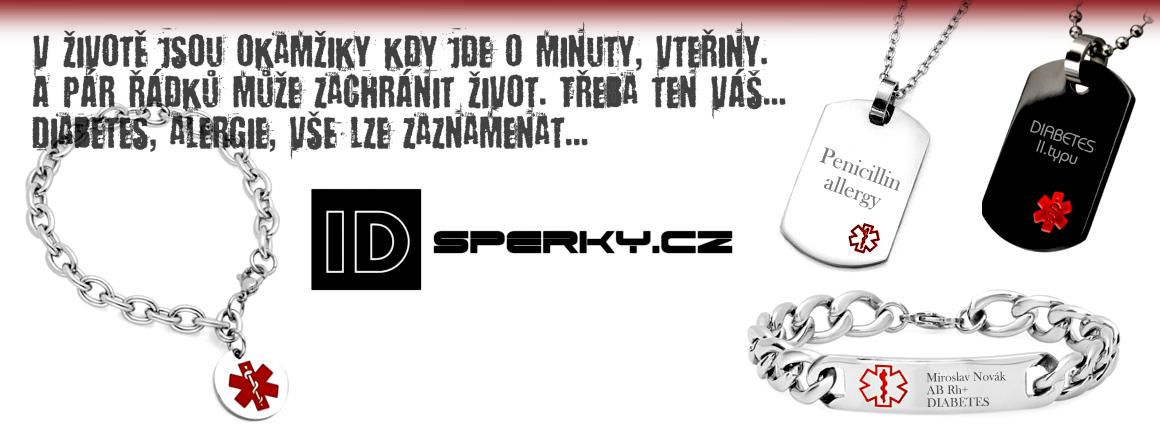 Gravírované ID šperky