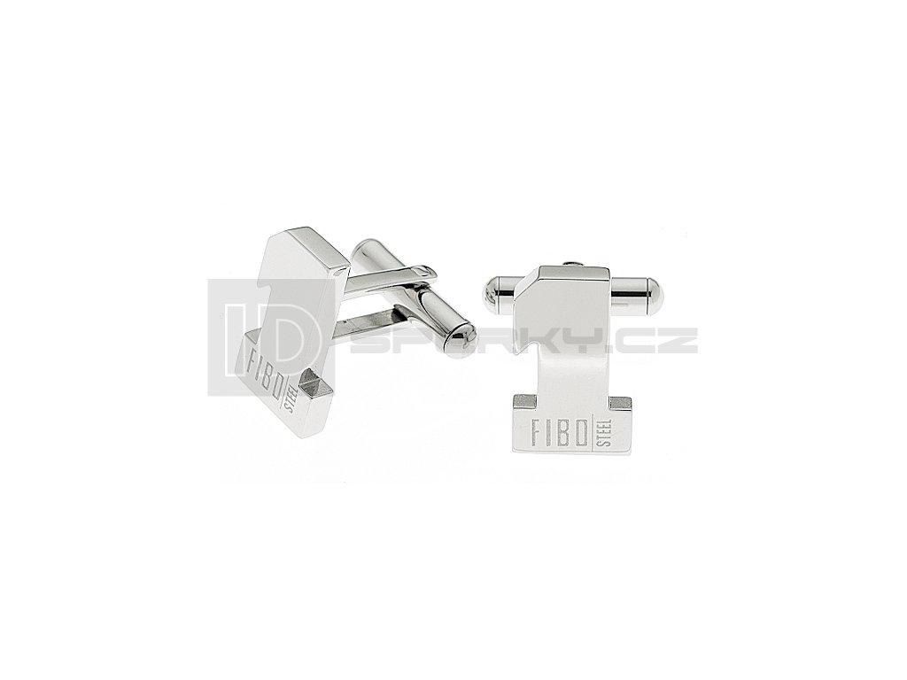 Manžetové knoflíčky FIBO Steel FCK0002/A