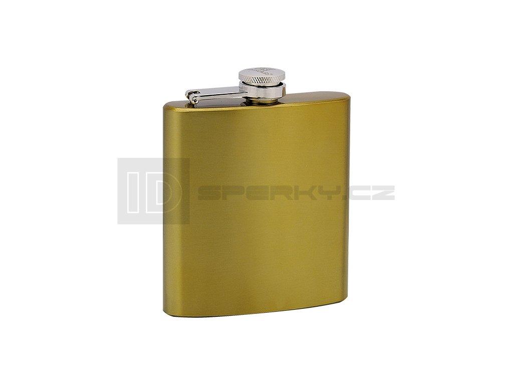 Placatka MEEX 175ml nerez zlatá