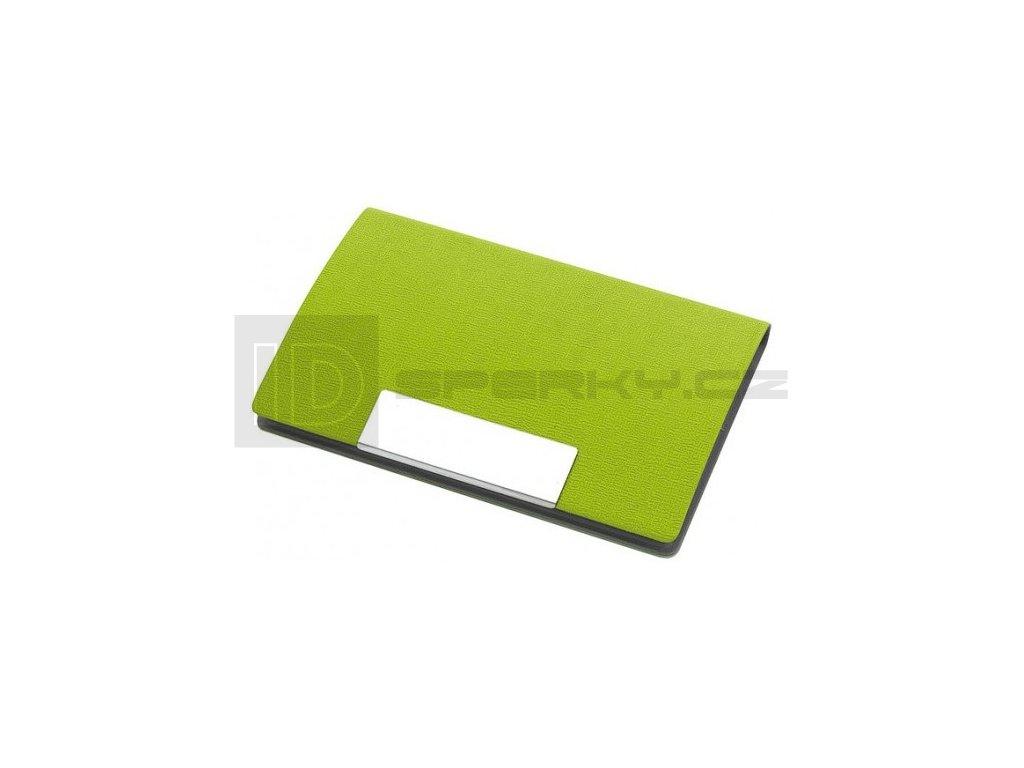 ferenk vizitkar s magnetickym zaviranim zeleny