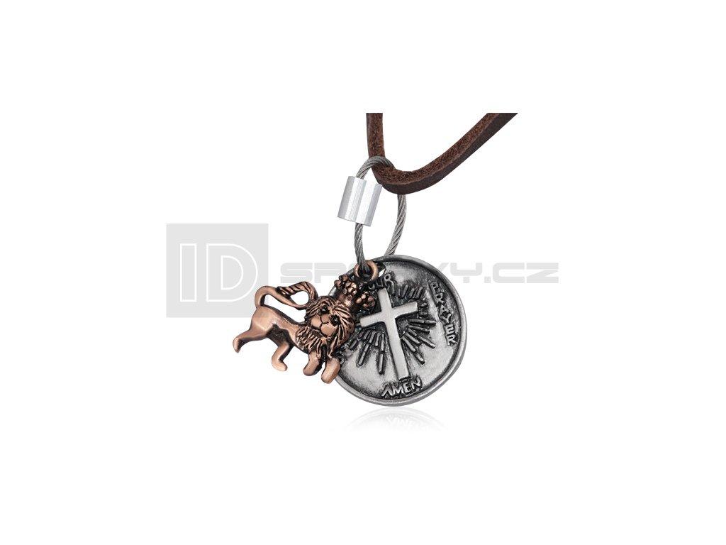 Kožený náhrdelník