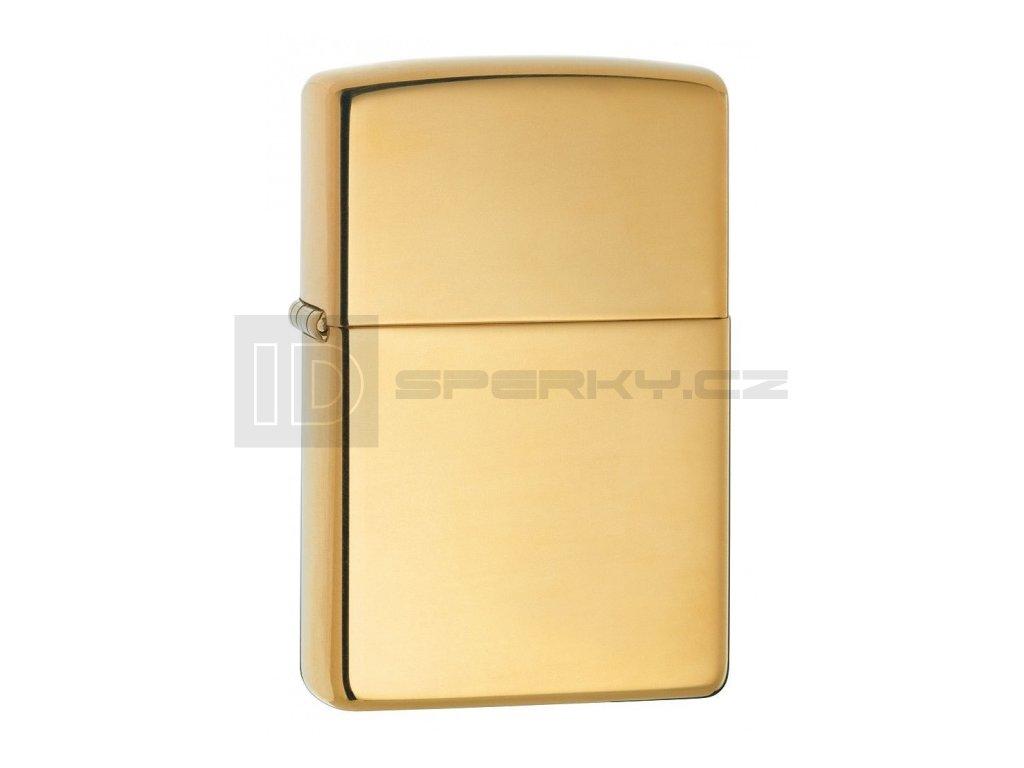 Zippo 24002 High Polish Brass