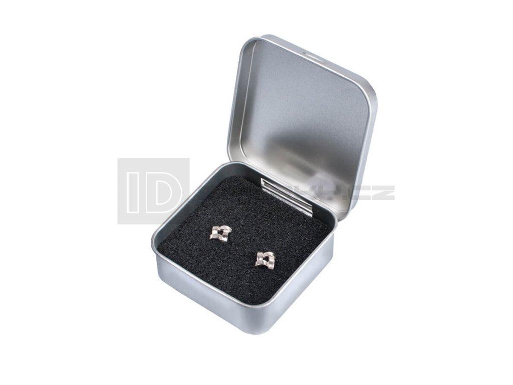 Dárková krabička kovová