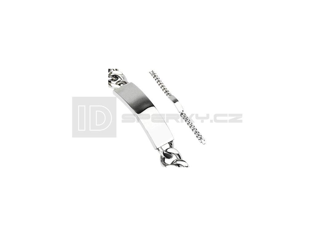Náramek z chirurgické oceli SPIKES SSBQ-2845-1