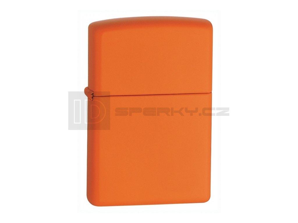 Zippo 26347 Orange Matte