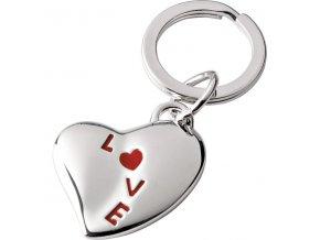 Klíčenka SOLO Heart Red Love