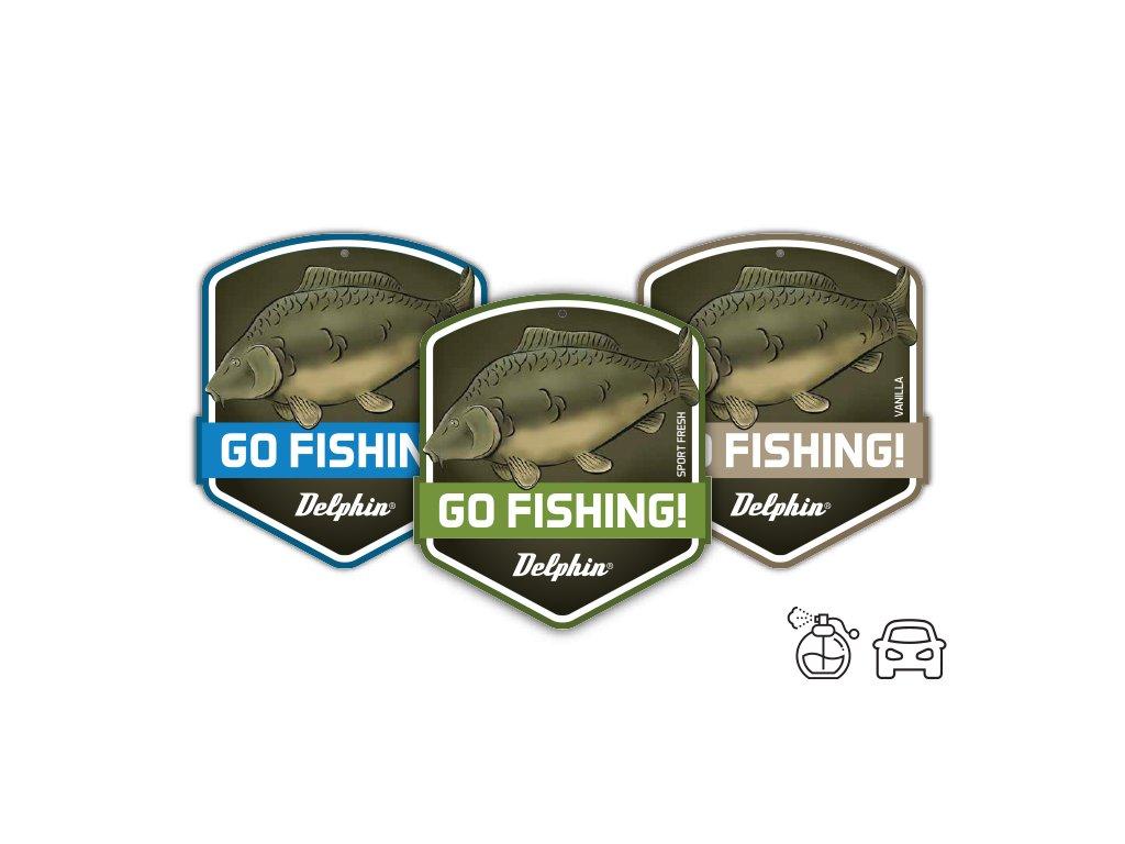 Delphin Vůně do auta GO FISHING! Sport fresh