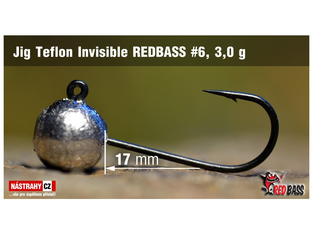 jig invisible teflon 6 3 0g