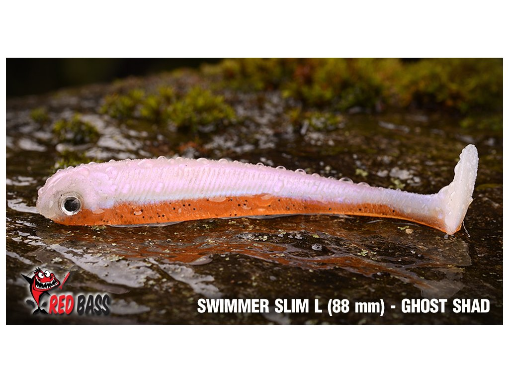 redbass swimmer slimL ghostshad