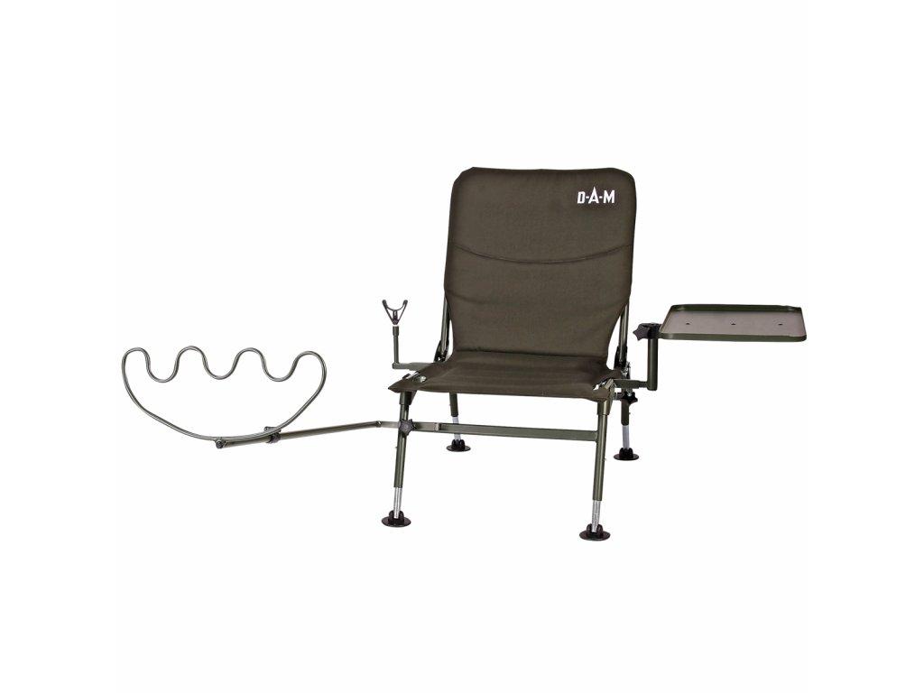 DAM exkluzivní feeder židlička s příslušenstvím