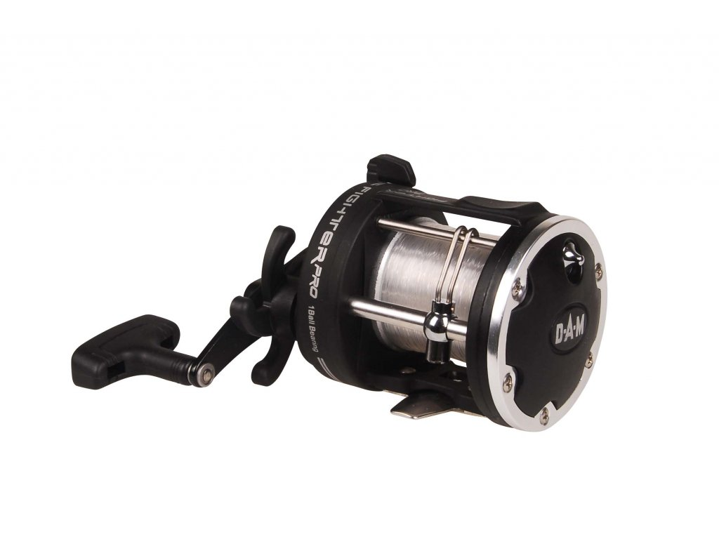 1286300 QUICK FIGHTER PRO 300 RH WITH 0.50 MM LINE 1BB 500g 3.41 310m0.45mm 30lb