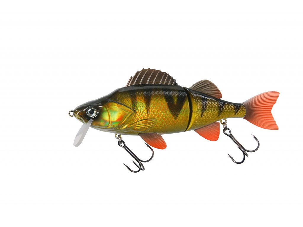 52168 EFFZETT SLIDE'N ROLL PERCH HOLO PERCH 14cm 40g Slow Sinking 2.5m 0 1.5m